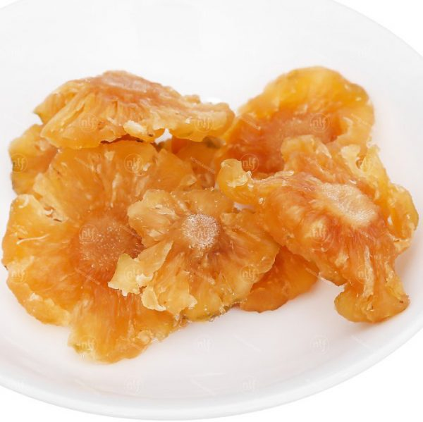 soft dried pineapple without sugar